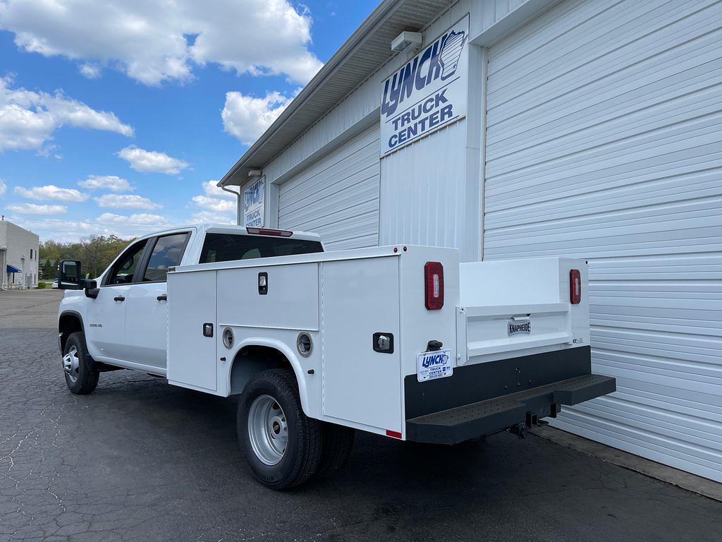 2021 Chevrolet Silverado 3500 Crew Cab 4x4, Knapheide Service Body #23768T - photo 1