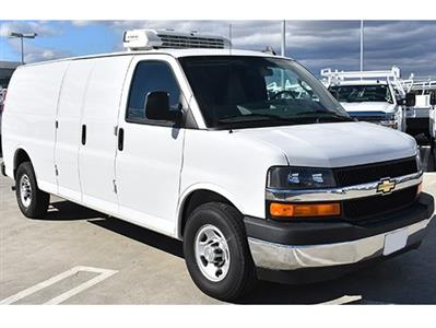 2017 Chevrolet Express 3500, Delivery Concepts Refrigerated Body