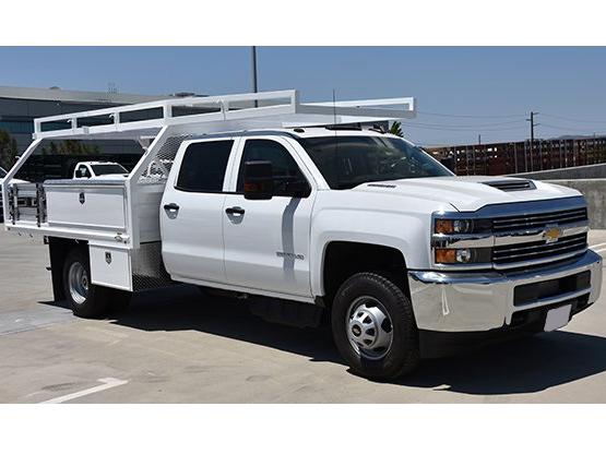2018 Silverado 3500 Crew Cab DRW 4x2,  Martin's Quality Truck Body Contractor Body #M18510 - photo 1