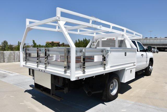 2018 Silverado 3500 Crew Cab DRW 4x2,  Martin Contractor Body #M18510 - photo 1