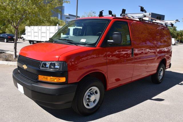 2018 Chevrolet Express 2500, Adrian Steel PHVAC Upfitted Cargo Van #M18806 - photo 4
