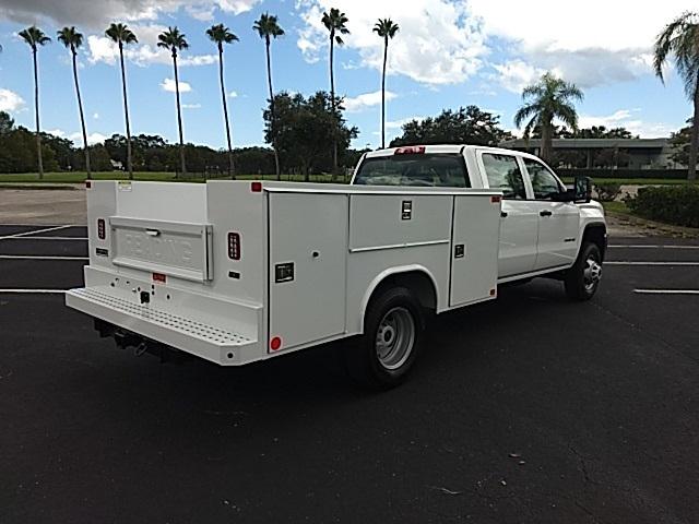 2018 Sierra 3500 Crew Cab DRW 4x2,  Reading Service Body #GJ231853 - photo 1