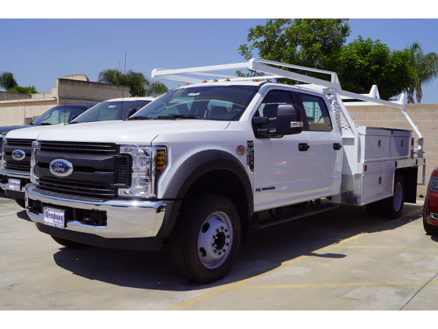 2018 F-450 Crew Cab DRW 4x2,  Scelzi Contractor Body #00118956 - photo 4