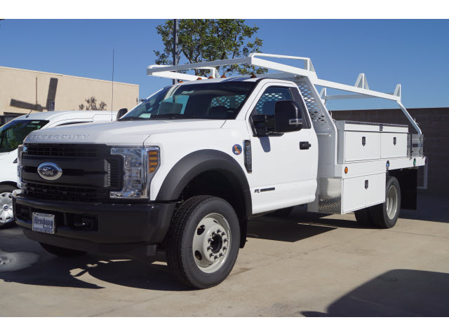 2019 F-450 Regular Cab DRW 4x2,  Scelzi Contractor Body #00119135 - photo 4