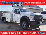 2019 F-450 Regular Cab DRW 4x2,  Scelzi Contractor Body #00119135 - photo 1