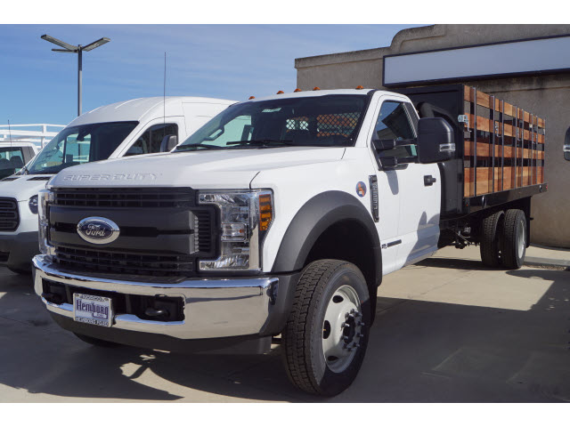2019 F-550 Regular Cab DRW 4x2,  Harbor Platform Body #00119268 - photo 4