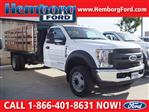 2019 F-550 Regular Cab DRW 4x2,  Harbor Platform Body #00119268 - photo 1