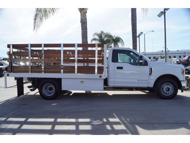 2019 F-350 Regular Cab DRW 4x2,  Scelzi Stake Bed #00119411 - photo 4