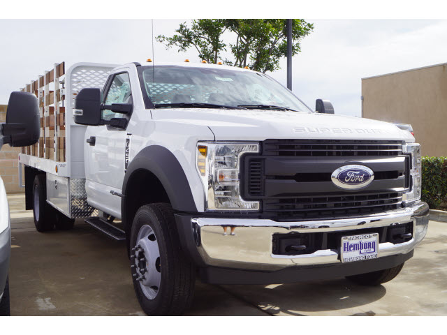2019 F-450 Regular Cab DRW 4x2,  Scelzi Stake Bed #00119433 - photo 4