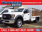 2019 F-450 Regular Cab DRW 4x2,  Scelzi Stake Bed #00119433 - photo 1