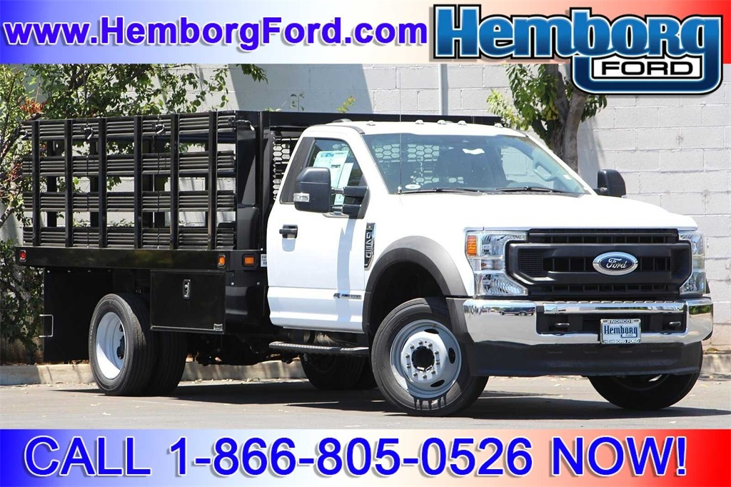2020 Ford F-450 Regular Cab DRW 4x2, Cab Chassis #00200202 - photo 1