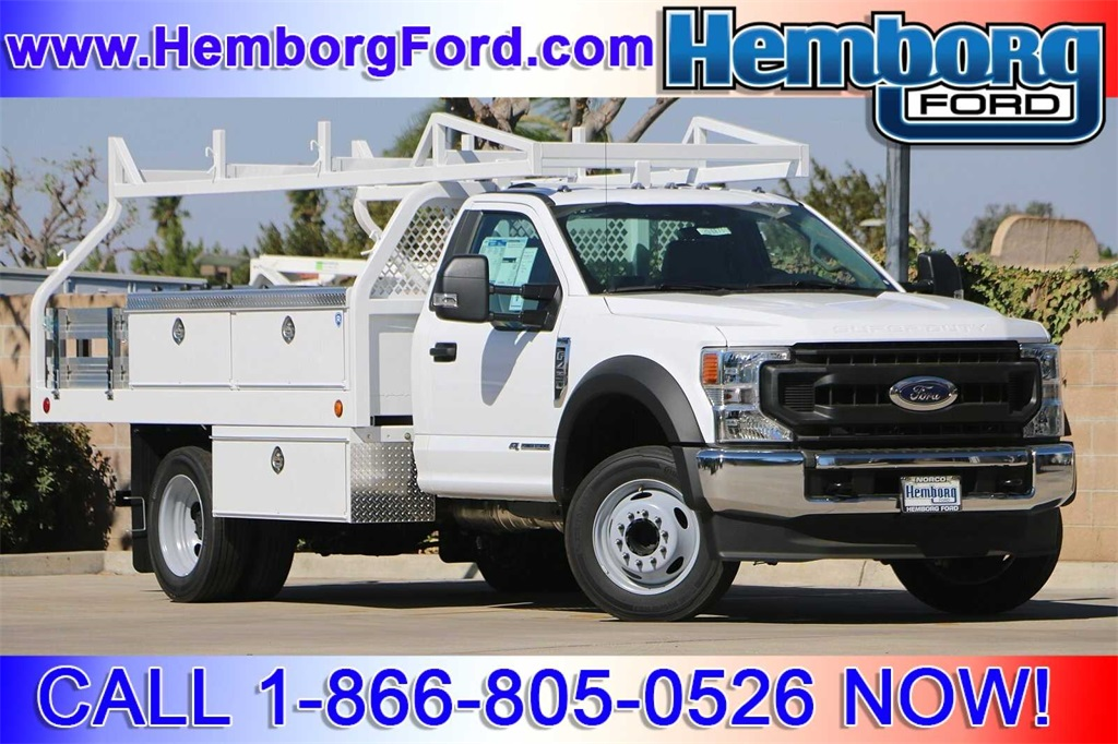 2020 Ford F-450 Regular Cab DRW 4x2, Royal Contractor Body #00200870 - photo 1