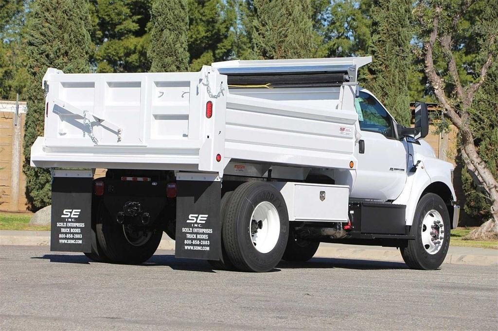 2021 Ford F-650 Regular Cab DRW 4x2, Scelzi Dump Body #00210199 - photo 1