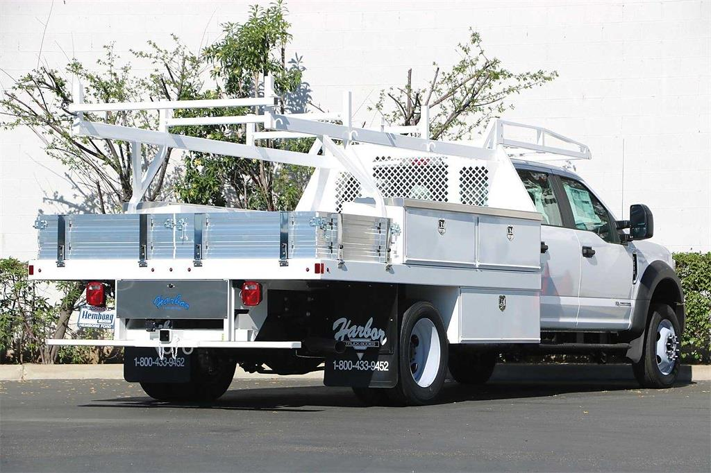 2021 Ford F-550 Crew Cab DRW 4x2, Harbor Contractor Body #00210301 - photo 1