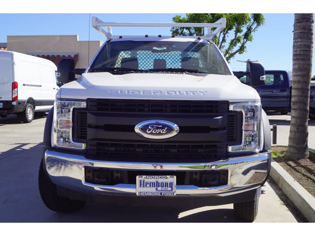 2017 F-450 Regular Cab DRW 4x2,  Harbor Contractor Body #117393 - photo 3