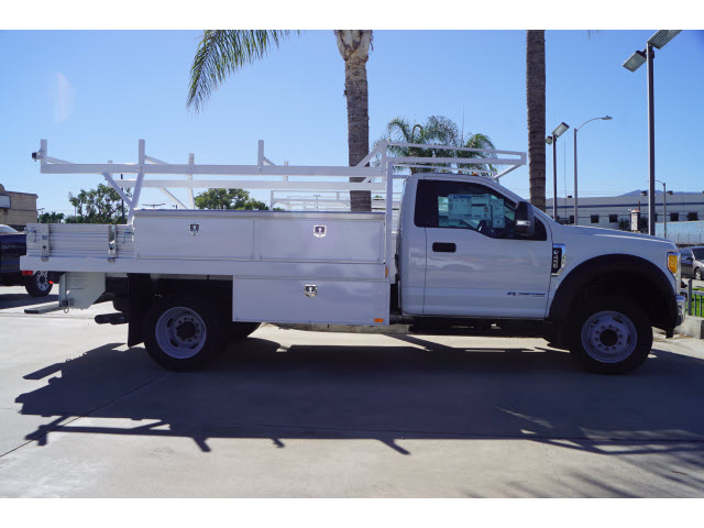 2017 F-450 Regular Cab DRW 4x2,  Harbor Contractor Body #117393 - photo 2
