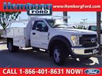 2017 F-450 Regular Cab DRW 4x2,  Harbor Contractor Body #117393 - photo 1