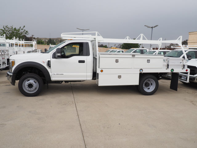 2018 F-550 Regular Cab DRW 4x2,  Scelzi Contractor Body #118446 - photo 5