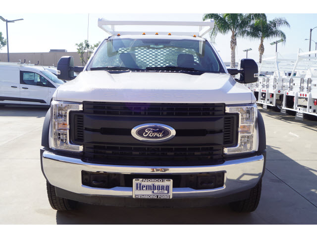 2018 F-450 Regular Cab DRW 4x2,  Harbor Contractor Body #118717 - photo 3