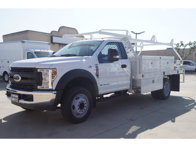 2018 F-450 Regular Cab DRW 4x2,  Harbor Contractor Body #118717 - photo 4