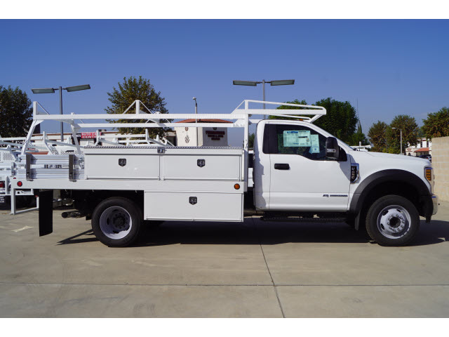 2018 F-450 Regular Cab DRW 4x2,  Harbor Contractor Body #118717 - photo 2