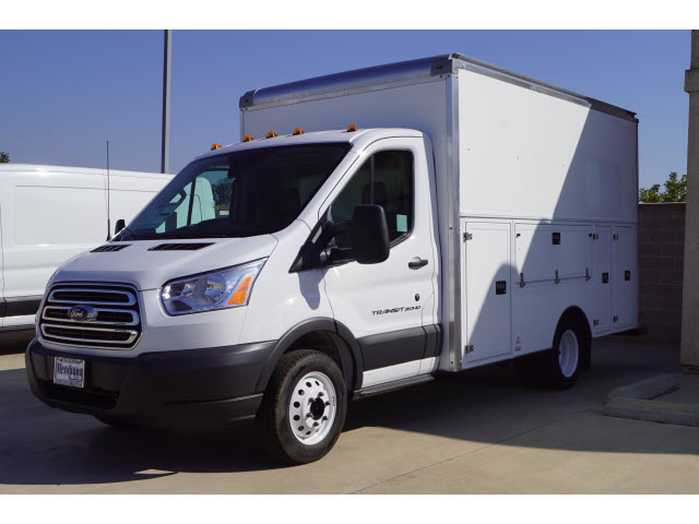 2018 Transit 350 HD DRW 4x2,  Supreme Service Utility Van #218175 - photo 4