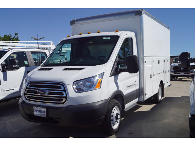 2018 Transit 350 HD DRW 4x2,  Supreme Service Utility Van #218194 - photo 4