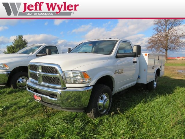 2016 Ram 3500 Regular Cab DRW 4x4,  Knapheide Service Body #569605 - photo 4