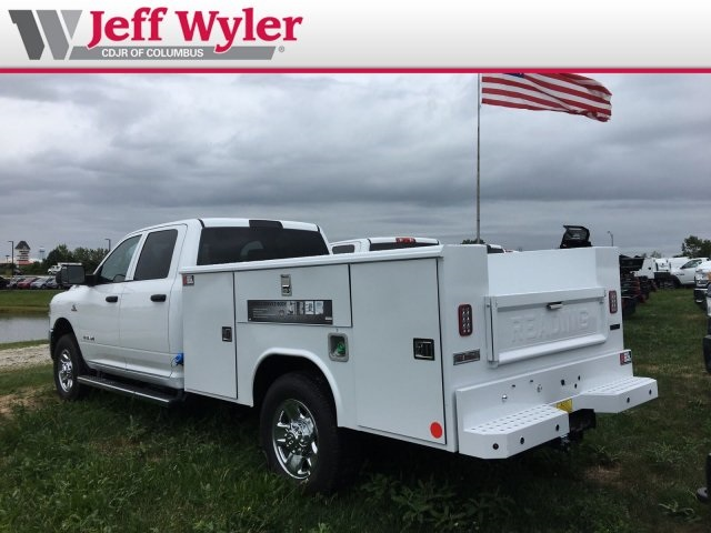 2019 Ram 3500 Crew Cab 4x2,  Reading Classic II Steel Service Body #569650 - photo 2