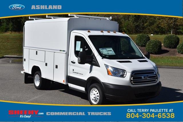 2019 Transit 350 HD DRW 4x2,  Reading Aluminum CSV Service Utility Van #JA02563 - photo 3
