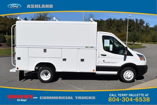 2019 Transit 350 HD DRW 4x2,  Reading Aluminum CSV Service Utility Van #JA02563 - photo 4