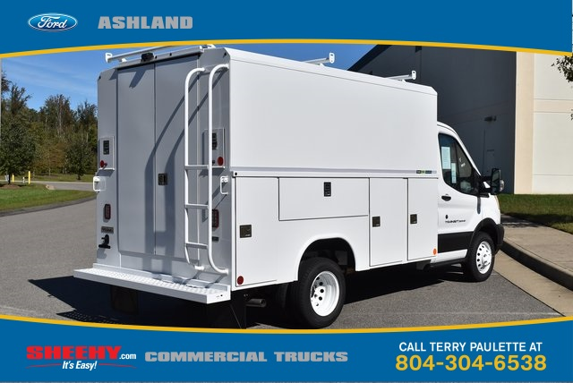 2019 Transit 350 HD DRW 4x2,  Reading Aluminum CSV Service Utility Van #JA02563 - photo 6