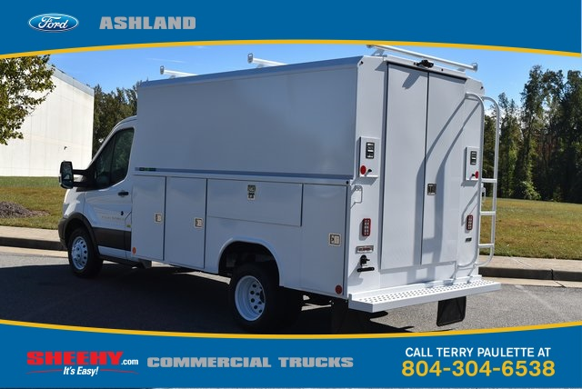 2019 Transit 350 HD DRW 4x2,  Reading Service Utility Van #JA02563 - photo 1