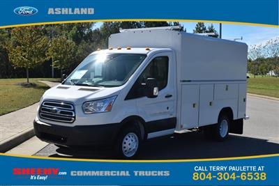 2019 Transit 350 HD DRW 4x2,  Reading Aluminum CSV Service Utility Van #JA02563 - photo 1