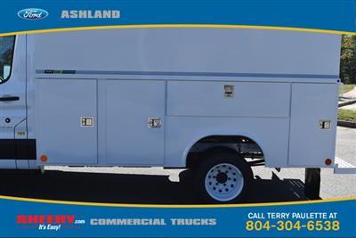 2019 Transit 350 HD DRW 4x2,  Reading Aluminum CSV Service Utility Van #JA02563 - photo 9