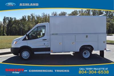 2019 Transit 350 HD DRW 4x2,  Reading Aluminum CSV Service Utility Van #JA02563 - photo 10