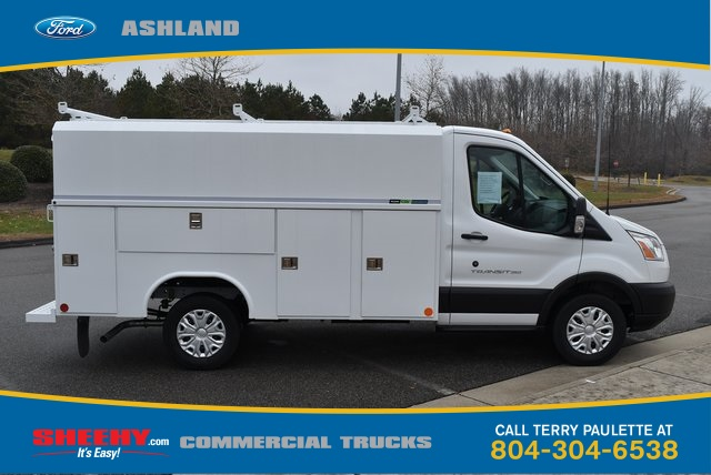 2019 Transit 350 4x2,  Reading Service Utility Van #JA02564 - photo 4
