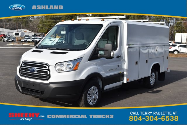 2019 Transit 350 4x2,  Reading Aluminum CSV Service Utility Van #JA02565 - photo 1