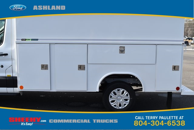 2019 Transit 350 4x2,  Reading Aluminum CSV Service Utility Van #JA02565 - photo 9