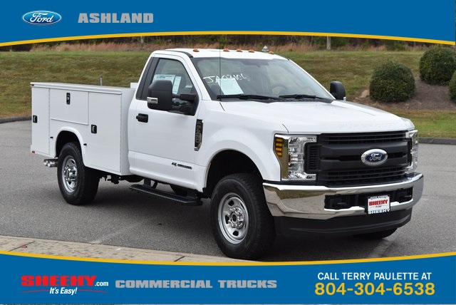 2019 F-350 Regular Cab 4x4, Knapheide Service Body #JA03106 - photo 3