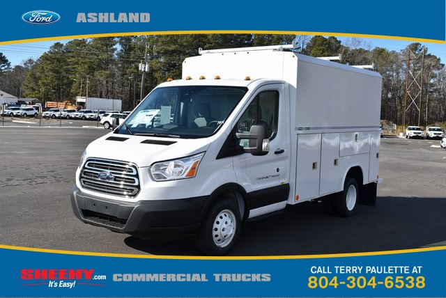 2019 Transit 350 HD DRW 4x2,  Reading Service Utility Van #JA07566 - photo 1