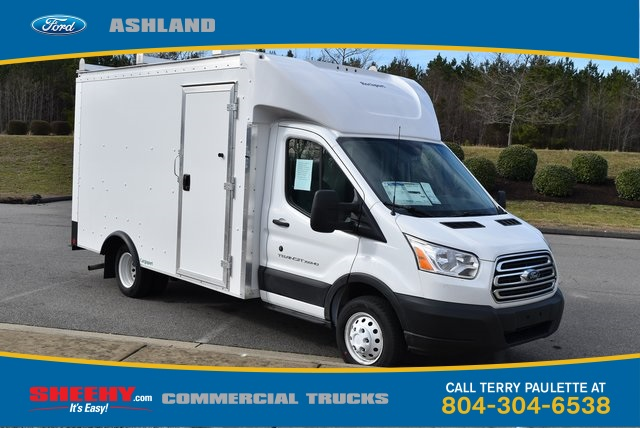 2019 Transit 350 HD DRW 4x2,  Rockport Cargoport Cutaway Van #JA12570 - photo 3