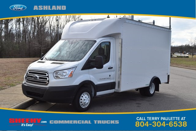 2019 Transit 350 HD DRW 4x2,  Rockport Cargoport Cutaway Van #JA12570 - photo 1