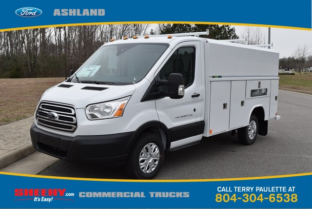 2019 Transit 350 4x2,  Reading Service Utility Van #JA63380 - photo 1