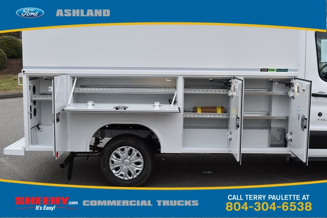 2019 Transit 350 4x2,  Reading Aluminum CSV Service Utility Van #JA63380 - photo 5