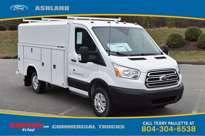 2019 Transit 350 4x2,  Reading Aluminum CSV Service Utility Van #JA63380 - photo 3