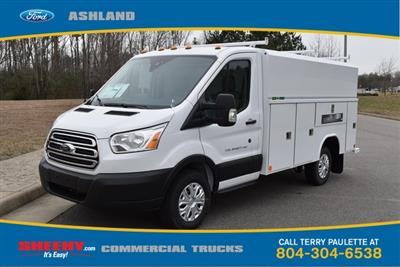 2019 Transit 350 4x2,  Reading Aluminum CSV Service Utility Van #JA63380 - photo 1