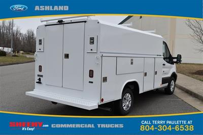 2019 Transit 350 4x2,  Reading Aluminum CSV Service Utility Van #JA63380 - photo 6