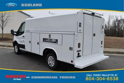 2019 Transit 350 4x2,  Reading Aluminum CSV Service Utility Van #JA63380 - photo 2