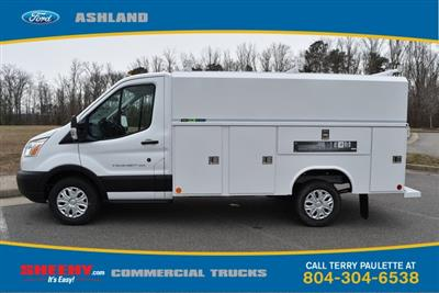 2019 Transit 350 4x2,  Reading Aluminum CSV Service Utility Van #JA63380 - photo 10
